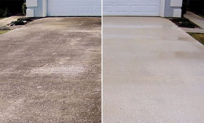 fullerton driveway cleaning