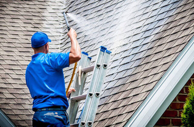 fullerton roof cleaning